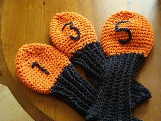 Free Knitting Pattern Golf Club Headcovers : CROCHET PATTERNS GOLF CLUB COVERS FREE CROCHET PATTERNS