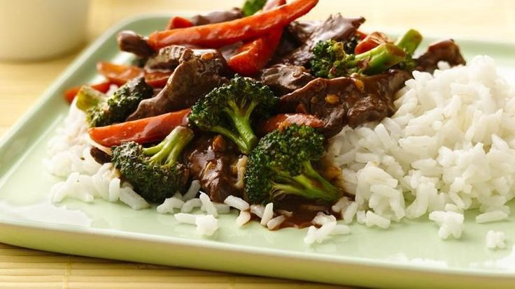 Stir-Fry Beef and Broccoli - DELICIOUS. Would definitely make it again ...