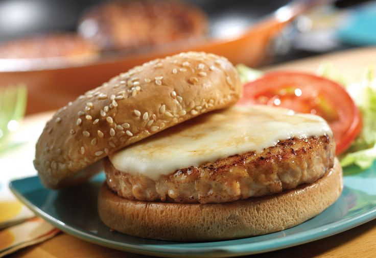 Quick & Healthy Turkey Burgers | Turkey Recipes | Pinterest