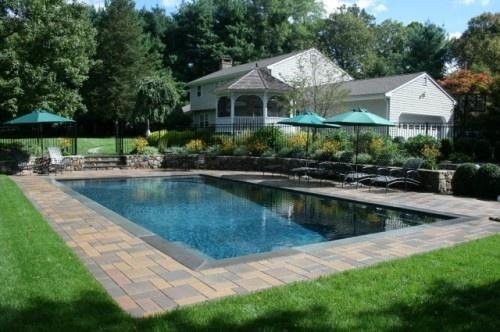 Natural Looking Backyard Pool : pool w very natural look  Pool & Yard  Pinterest