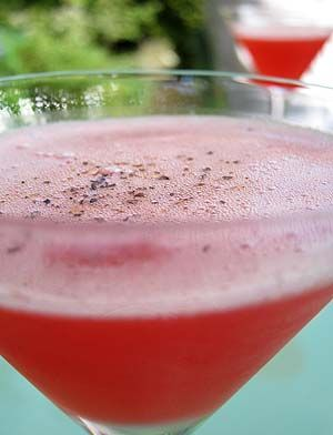 Black Pepper Martini with Rose Syrup | Cooking with Flowers | Pinter ...