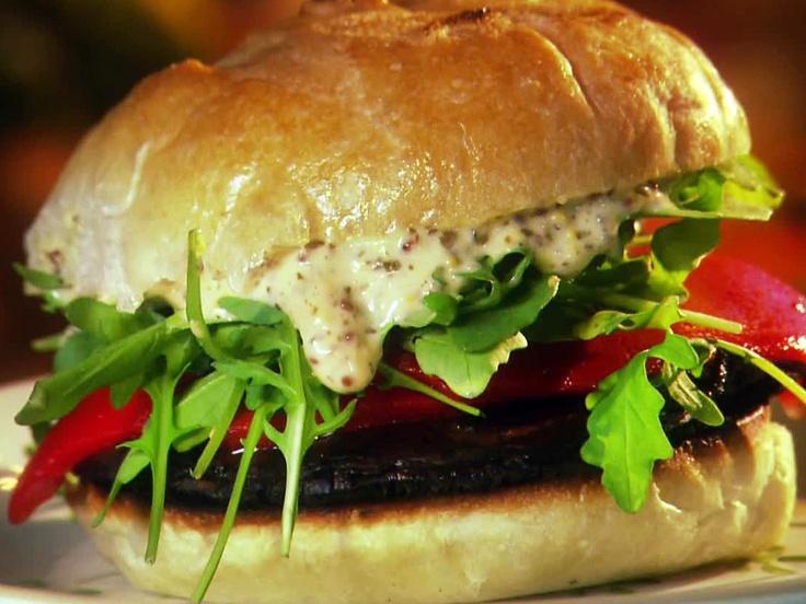 Portobello Mushroom Burger from FoodNetwork.com