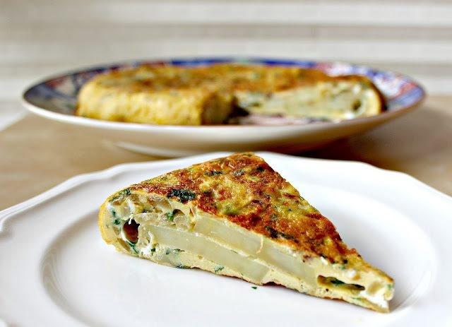 Tasty Potato and Onion Frittata | Breakfast | Pinterest