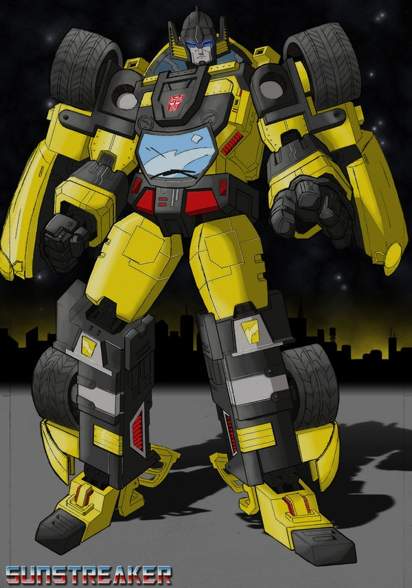 Sunstreaker, my childhood favorite. | Nerd Groove | Pinterest