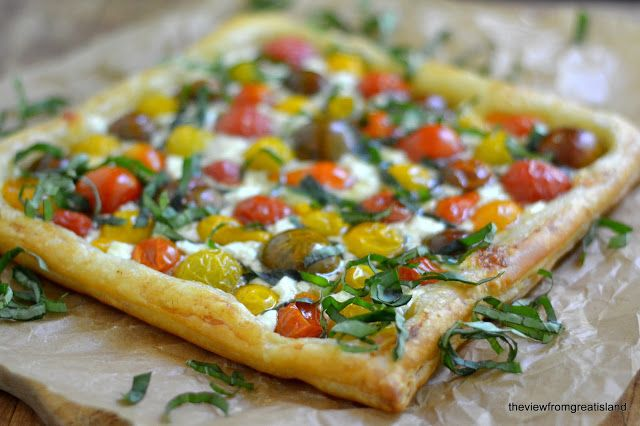 Minimal Monday: Heirloom Cherry Tomato Tart - The View from Great ...
