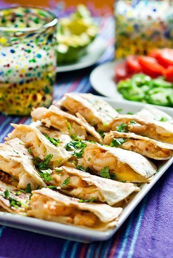 Shrimp Quesadillas | Food! | Pinterest