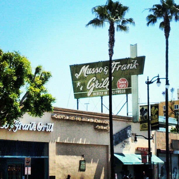 Pin by eileen o 39 leary on place i 39 ve been pinterest - Musso and frank grill hollywood ...