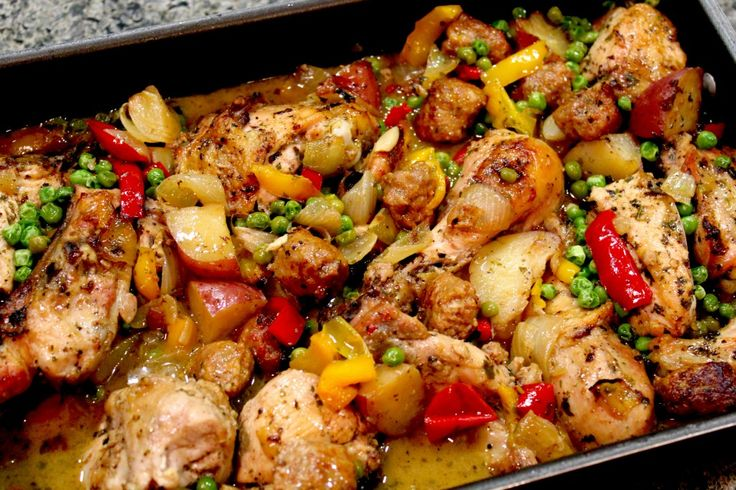 Chicken Vesuvio | Recipes for Chicken Only | Pinterest