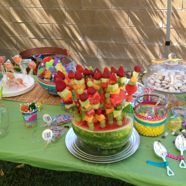 baby shower food ideas luau baby shower food ideas