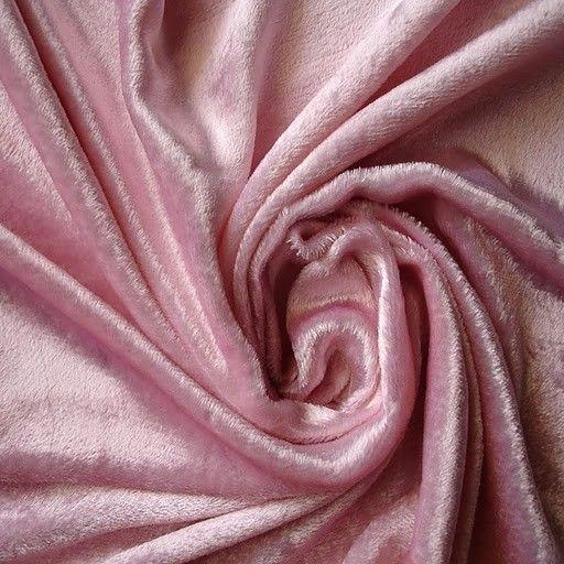 Light Pink Velvet Fabric Yardage Curtain Fabric Fashion Velvet Uphols ...