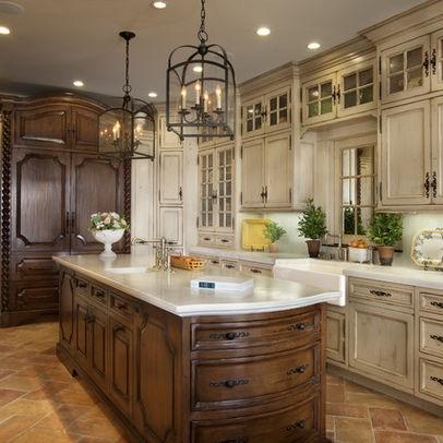 Cream glazed kitchen cabinets kitchens pinterest - Cream glazed kitchen cabinets pictures ...