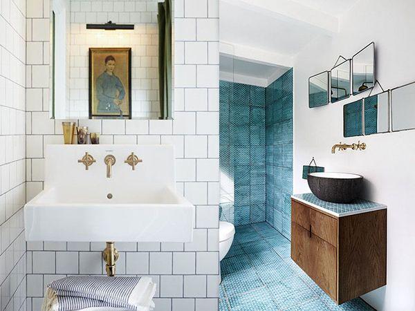 Griferia Para Baño Dorada:Tendencias: baños con grifería dorada – Ebom