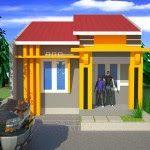 rumah minimalis type 70 exterior pinterest