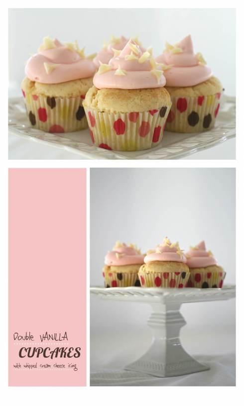 double dose vanilla cupcakes hc | Baking | Pinterest