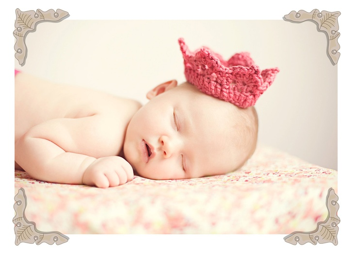 Crochet Newborn Crown : crochet baby crown Products I Love Pinterest