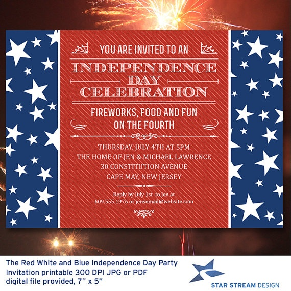Star Birthday Invitations with awesome invitation example