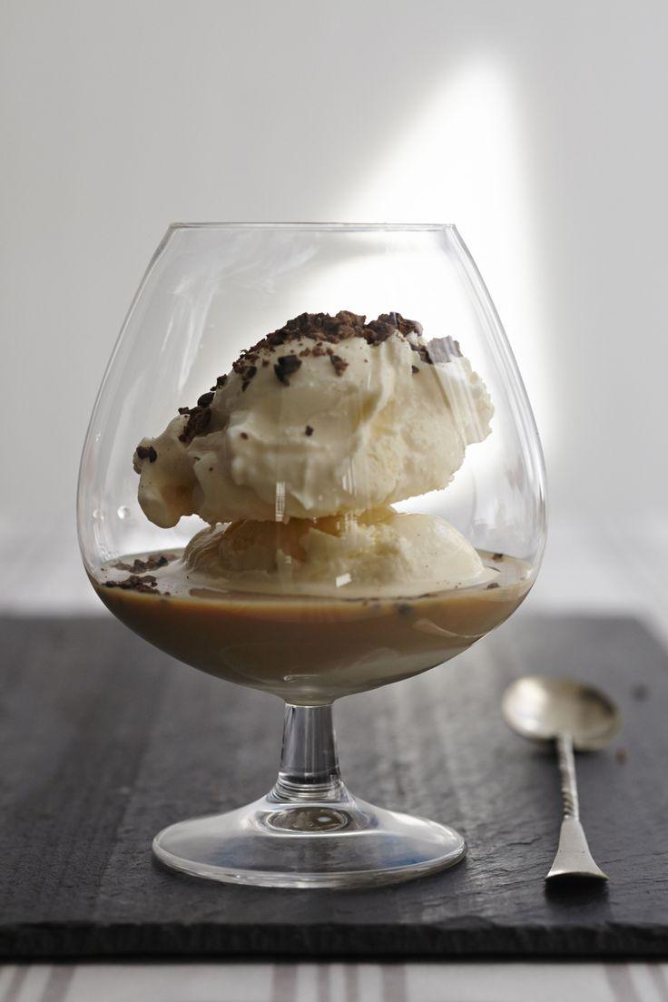 Hazelnut Ice Cream made with 2 oz. Baileys® Hazelnut Flavor Liqueur ...