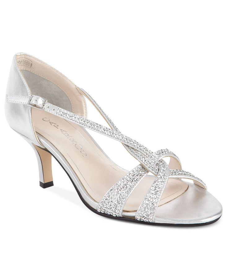 Caparros Shoes, Forever Evening Sandals Silver- All Women's Shoes