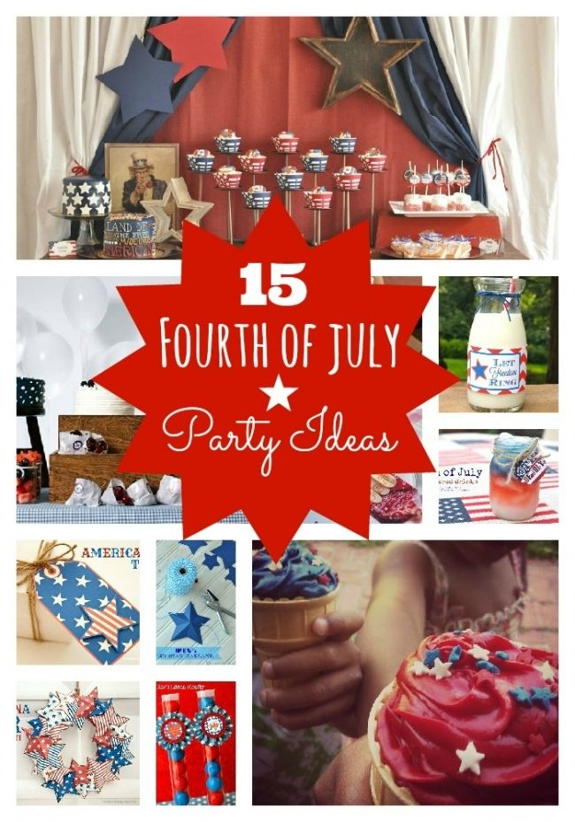 Check out these DIY Fourth of July party ideas! http://spaceshipsandlaserbeams.com/blog/2013/06/party-central/fourth-of-july-party-ideas