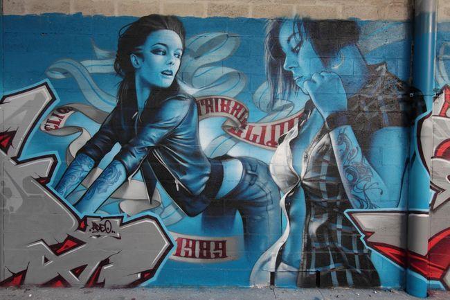 Characters By Shadow - Paris (France) | Graffiti | Pinterest