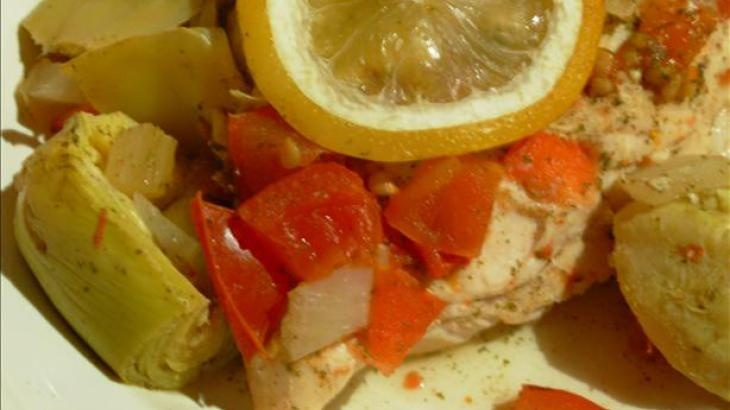 Chicken with Artichokes and Lemon | recipes | Pinterest