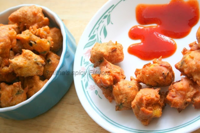 Spicy Corn Fritters/Corn Pakoras Tried n Tested fab snack for rainy ...
