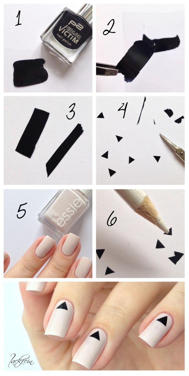 Идеальные ногти : трафареты для 19