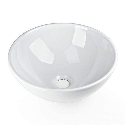 Round Vessel Sink Vanity : 13x13