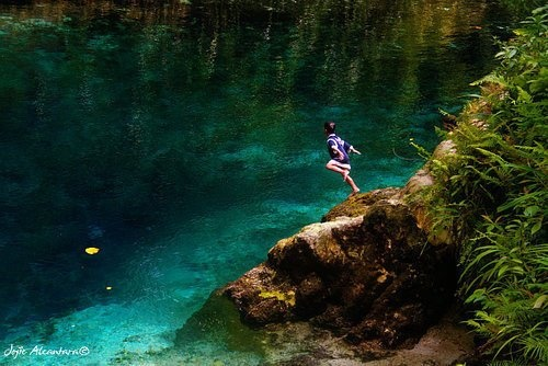 Enchanted River, Surigao, Philippines