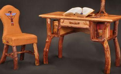 Rustic Log Furniture http://www.codyhighstyle.org | Rustic Furniture Ideas | Pinterest