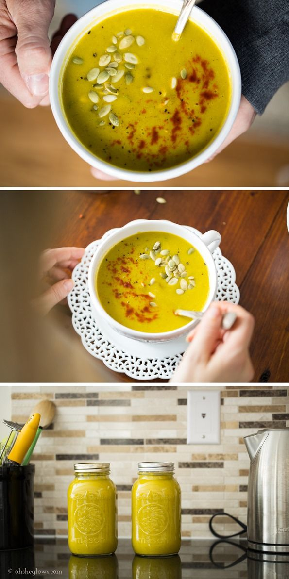 """Luxurious 7 Vegetable and """"Cheese"""" Soup 