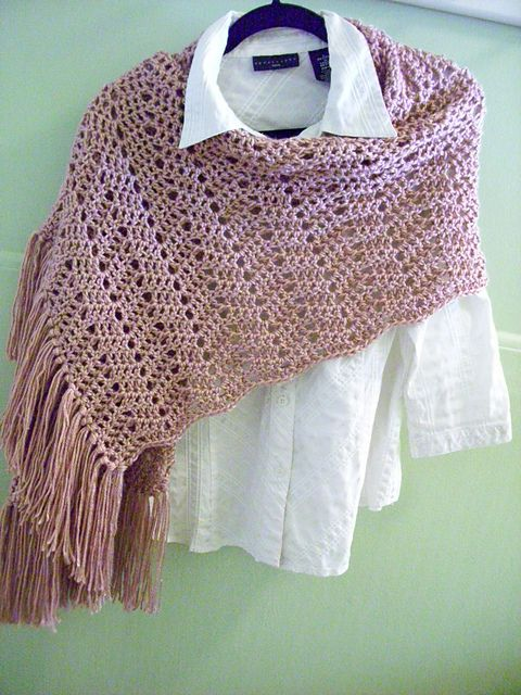 Free Crochet Patterns Shawls Stoles : Pin by Linda on Free Pattern Pinterest