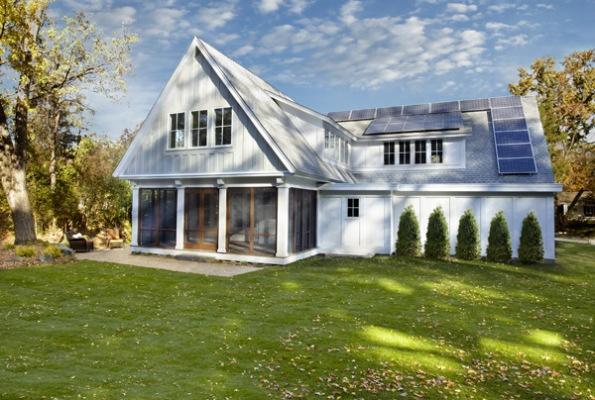 Net Zero Home Modern Farmhouse Cottage Design Pinterest