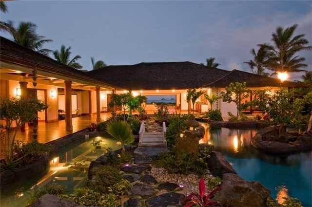 Luxury estates hawaii for Hawaii home builders