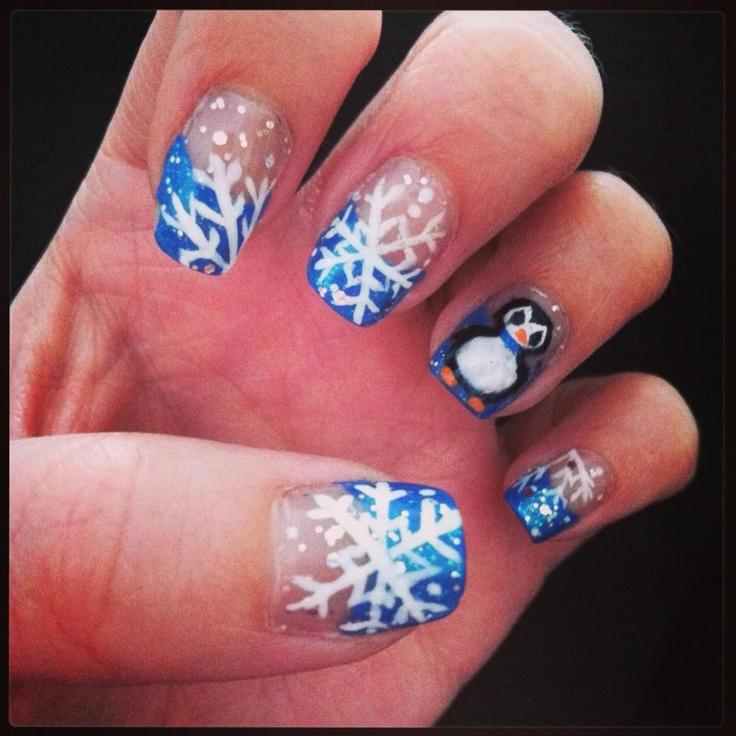 Cute winter nail design nail design pinterest - Pinterest nageldesign ...