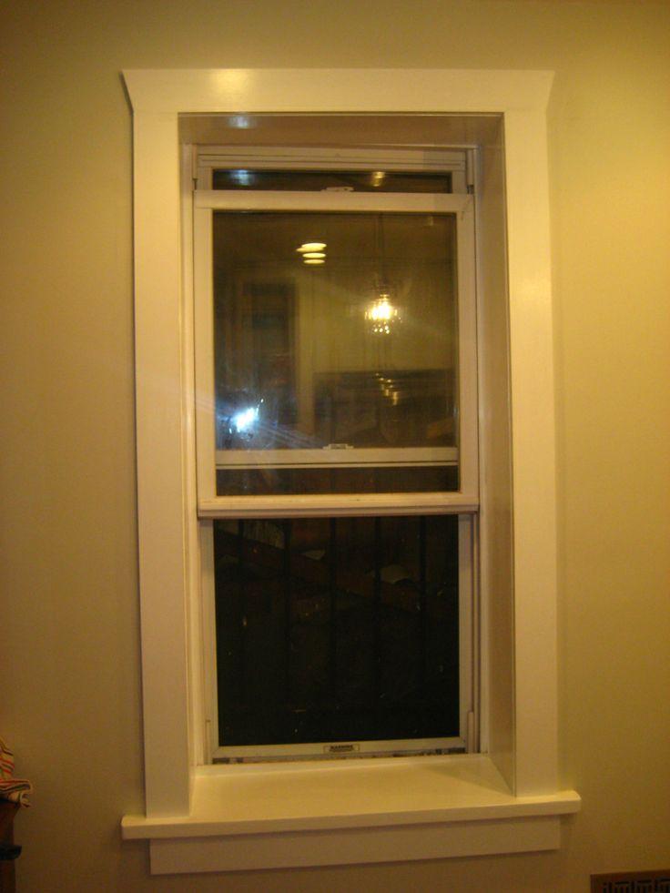 Simple window frame home decor pinterest for Window frame designs house design