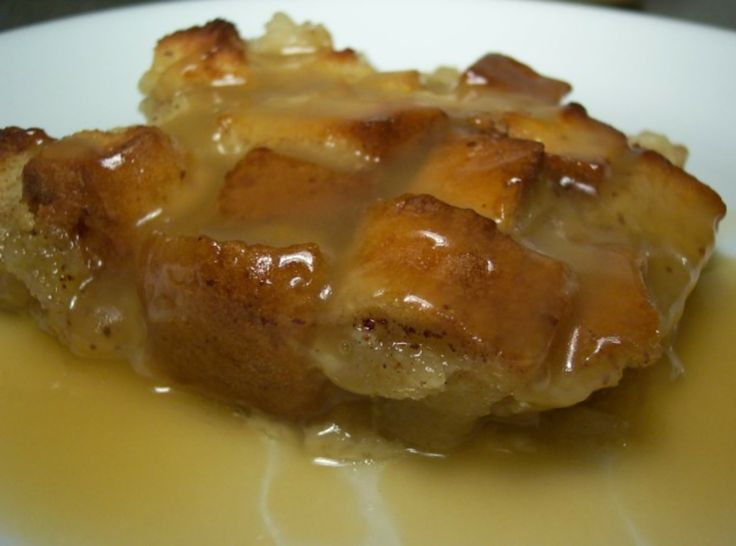 Bon Ton Bread Pudding with Whiskey Sauce | Bread Pudding | Pinterest