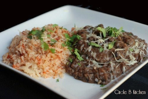 Mexican Rice and Beans - have made the rice & it's super good