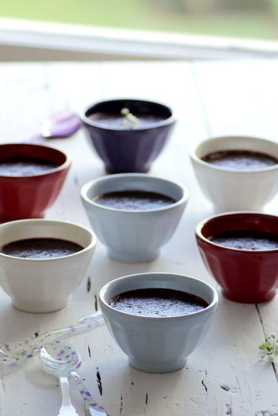 Chocolate pots de creme foodandcook.net