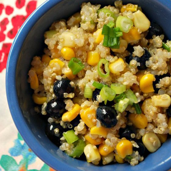 Blueberry, Corn and Quinoa Salad | How To Make Food Fun & Playful | P ...