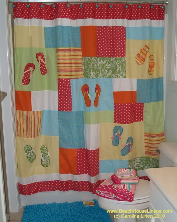 Shower Curtains With Birds Flip Flop Comforter