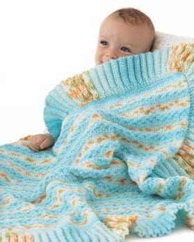 BERNAT BABY JACQUARDS BLANKET PATTERNS Sewing Patterns for Baby