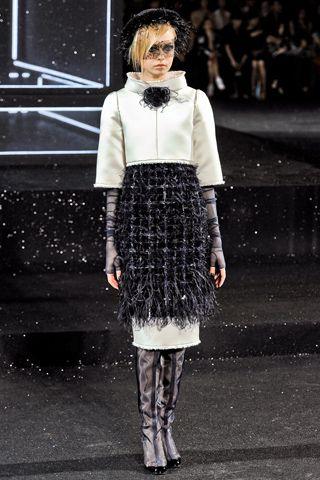 Fall 2011 Couture, Designer: Chanel, Model: Siri Tollerod