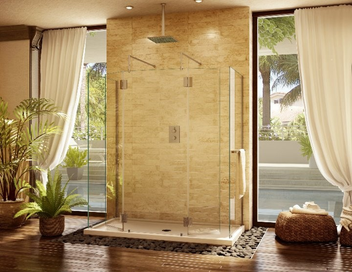 Pin by solvay glass home inspiration on solvay glass pinterest - Alumax shower door and buying considerations ...