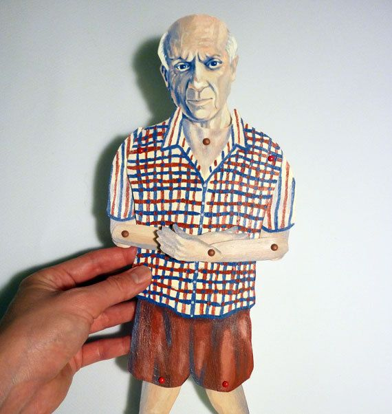 Paper Sculpture by Pablo Picasso