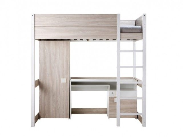But lit mezzanine docker chambre z lie pinterest - Lit mezzanine double a vendre ...