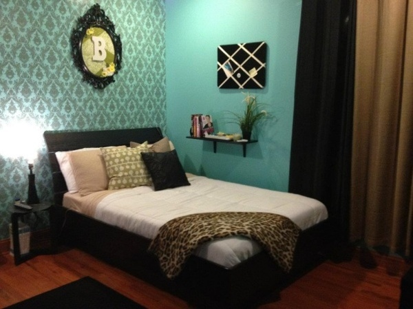 teal bedroom idea design pinterest