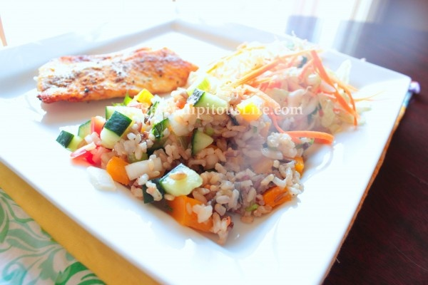 WILD AND BROWN RICE SALAD | Food and Recipes | Pinterest