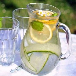 Cucumber-Basil Lemonade With Lemongrass Recipes — Dishmaps