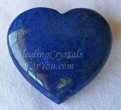 Use Lapis Lazuli heart for developing psychic abilities
